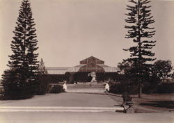 The Albert Victor Conservatory, Lal Bagh [Bangalore].